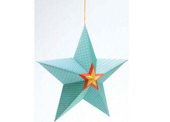 fonkelende set papieren sterren DJECO | kinderen-shop Kleine Zebra