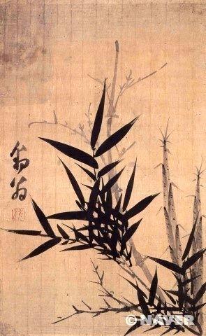 강세황 대나무