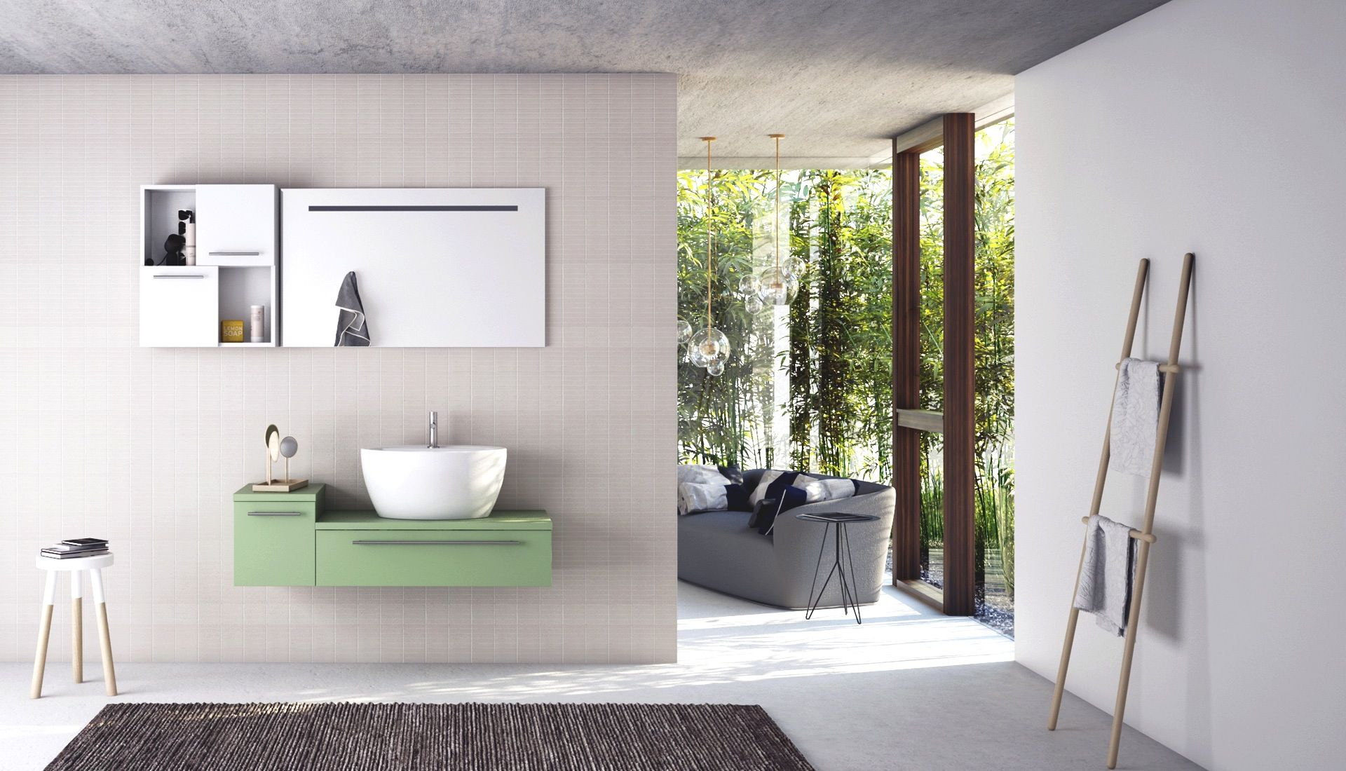 naturedesign #bathroom #home #modernstyle #arredobagno #puntotre ...