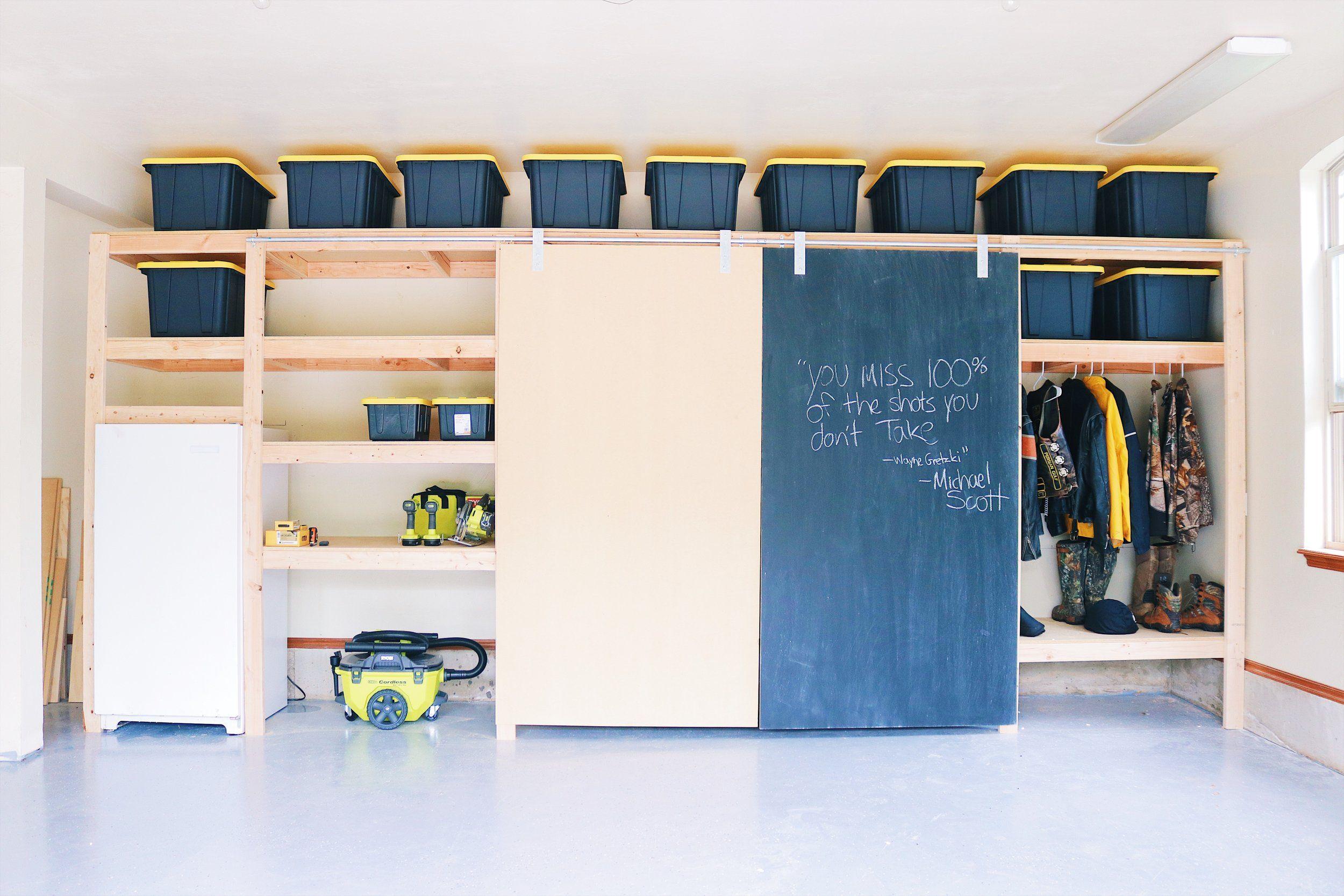 Garage shelves pt 2 modern builds garage storage