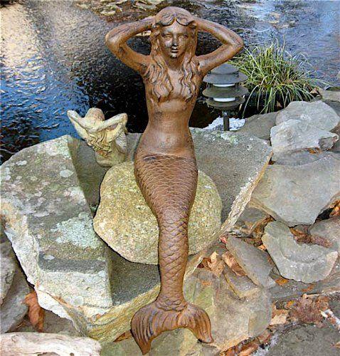 Mermaid Statues For Lawn And Garden   Mermaid Decor Ideas