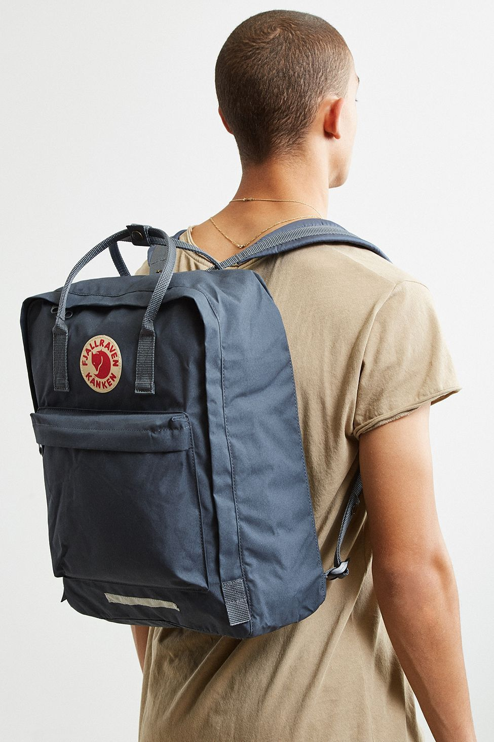 a91958838 Urban Outfitters Fjallraven Kanken Big Backpack - Dark Grey One Size ...