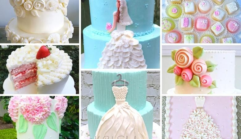 Bridal Shower Cake Ideas and Recipes!