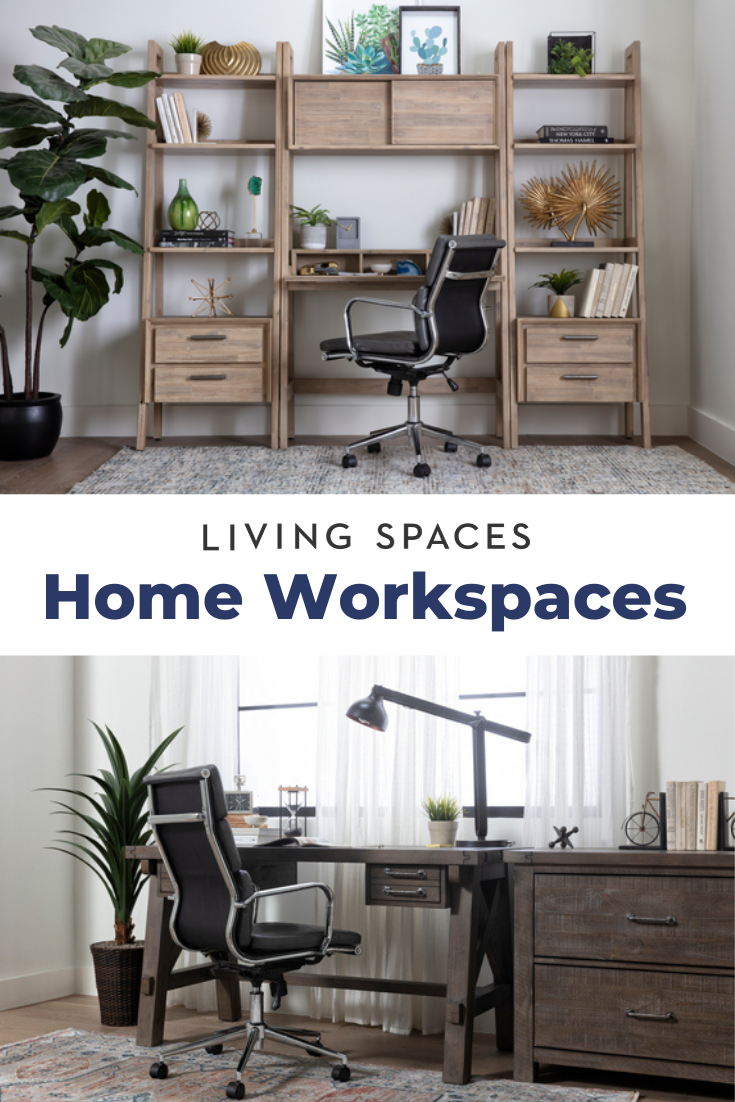 Upgrade your workspace with stylish office desks + more. in 34