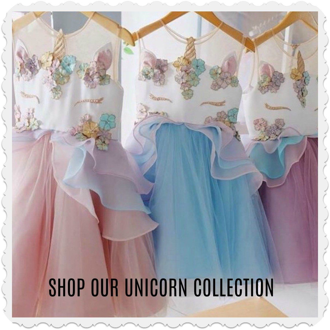 Unicorn Birthday Girl Dress Ideas for Girls and Toddlers, 2 year old ...