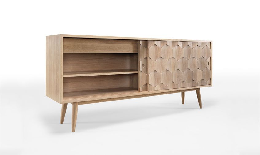 Wewoodn Scarpa sideboard is an amazing piece, all in solid ... on consoles and credenzas, made in usa modern credenzas, modern sideboards with sliding door, country style credenzas, industrial modern credenzas, post modern credenzas, modern sideboards and hutches,