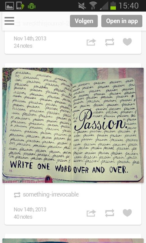 Wtj:write one word over and over