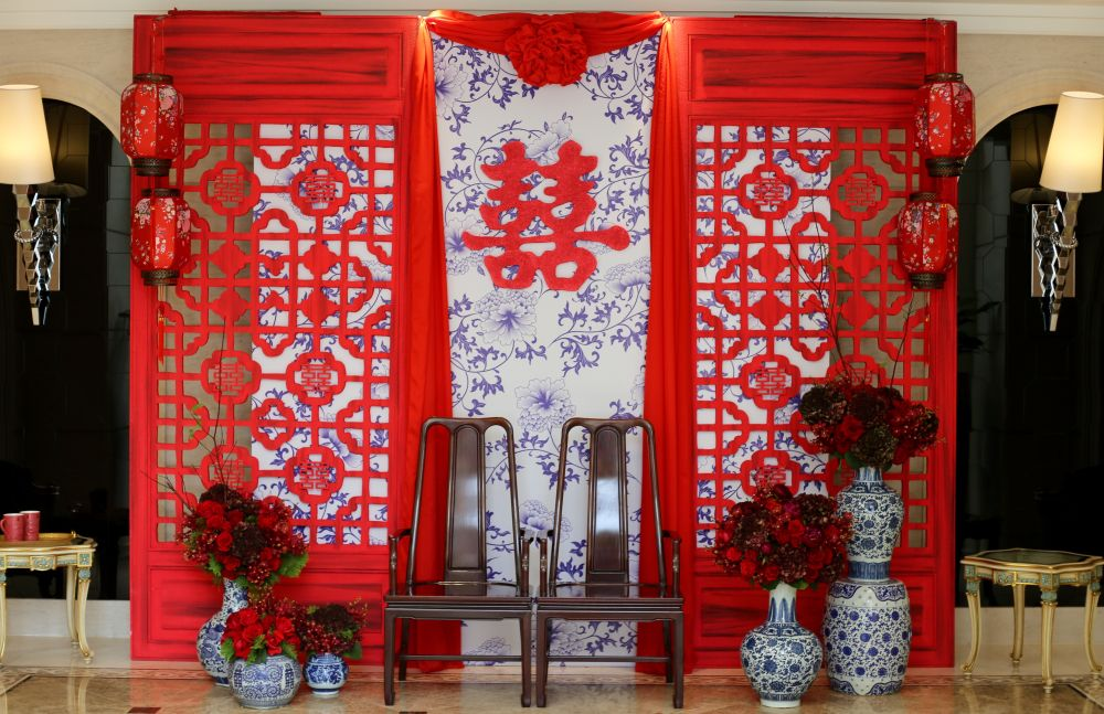 Chinese Tea Ceremony Decoration Chinese Wedding Decor Oriental Wedding Chinese Wedding Tea Ceremony
