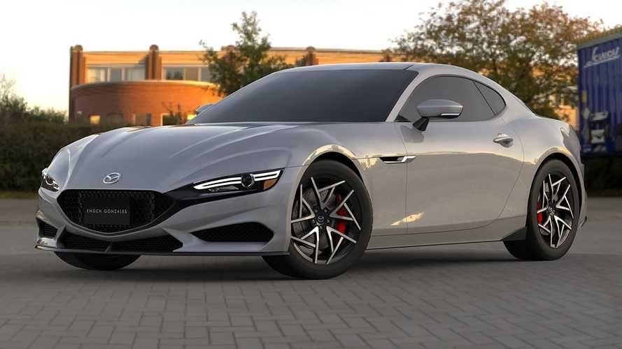 2022 Mazda Rx 7 Rendering In 2020 Mazda Rx7 Mazda Car