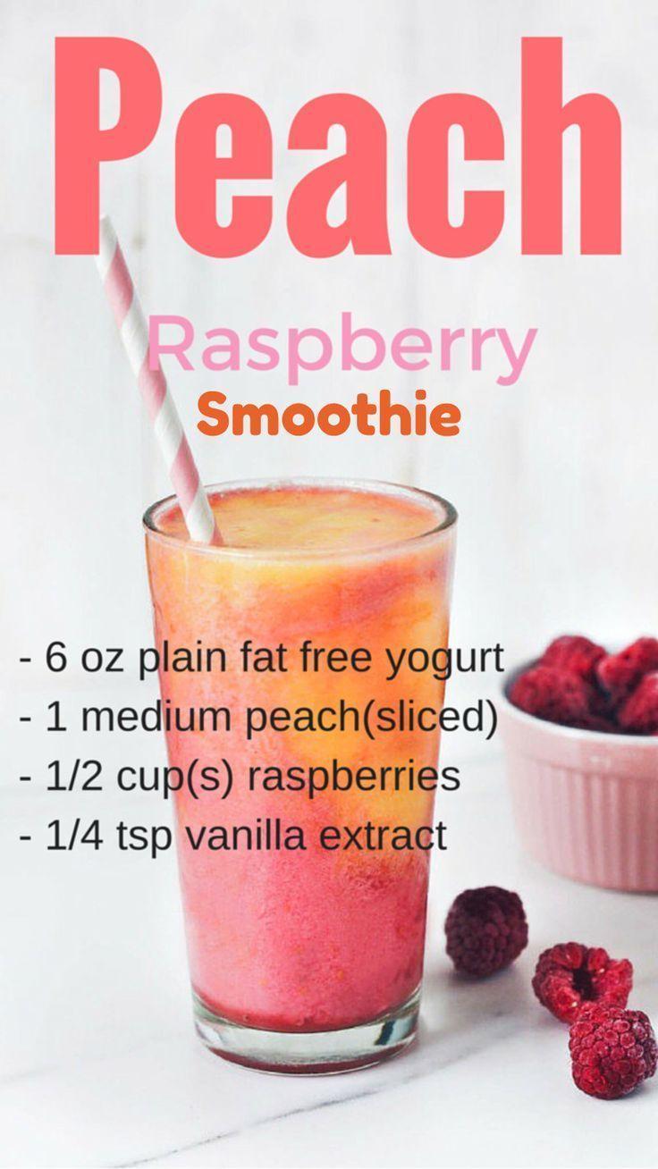 Peach smoothie recipes  peach raspberry smoothies recipe