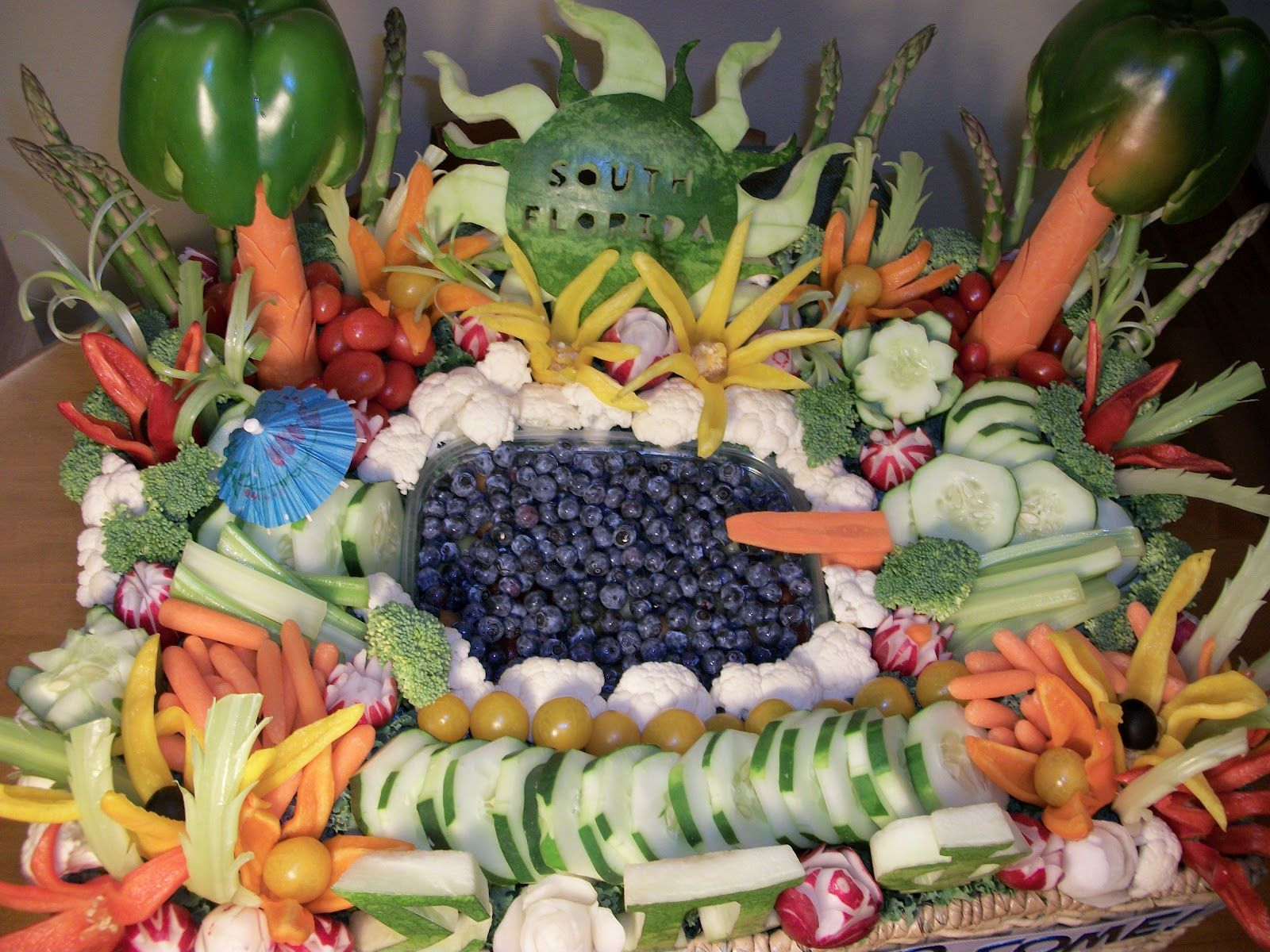 Vegetable Platter Radish Roses Sigma Pi Phi South Florida