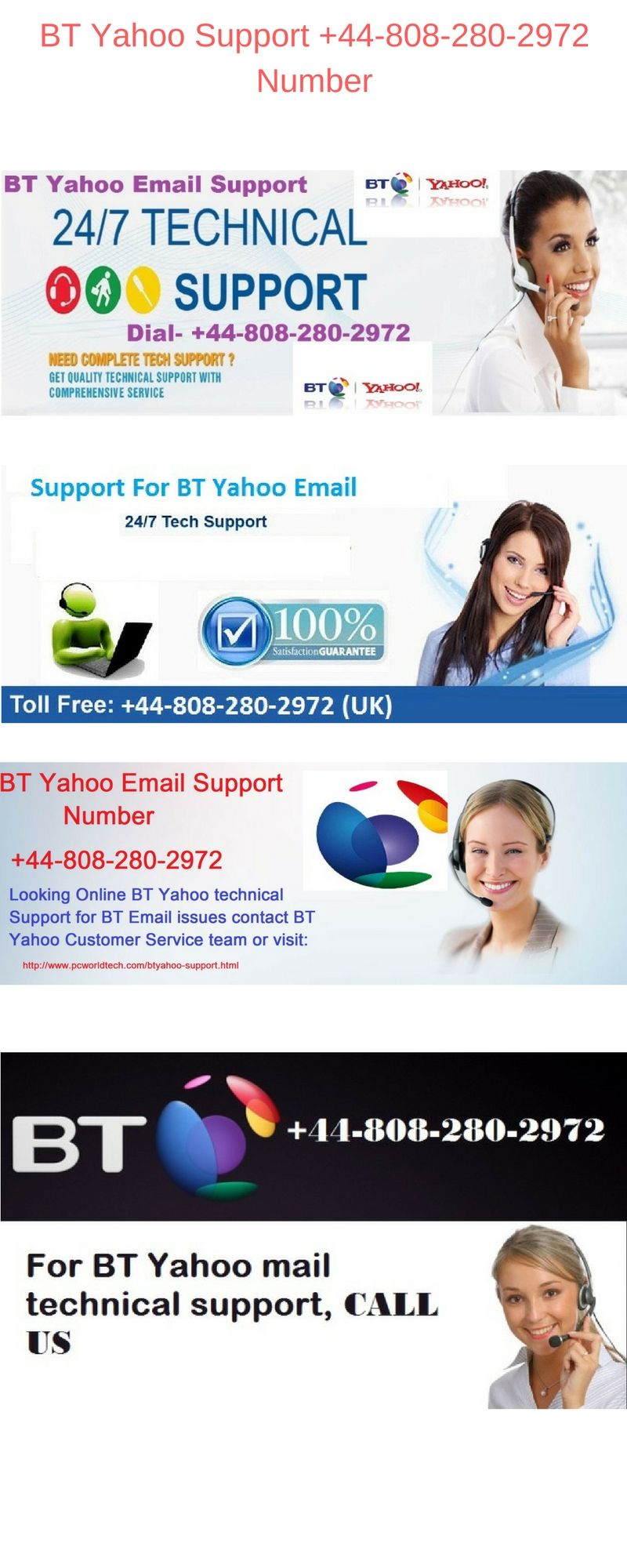 Just Contact Toll Free Bt Yahoo Support 44 808 280 2972 Number