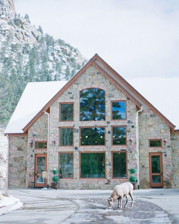 A Snowy Winter Wedding in the Colorado Mountains ...