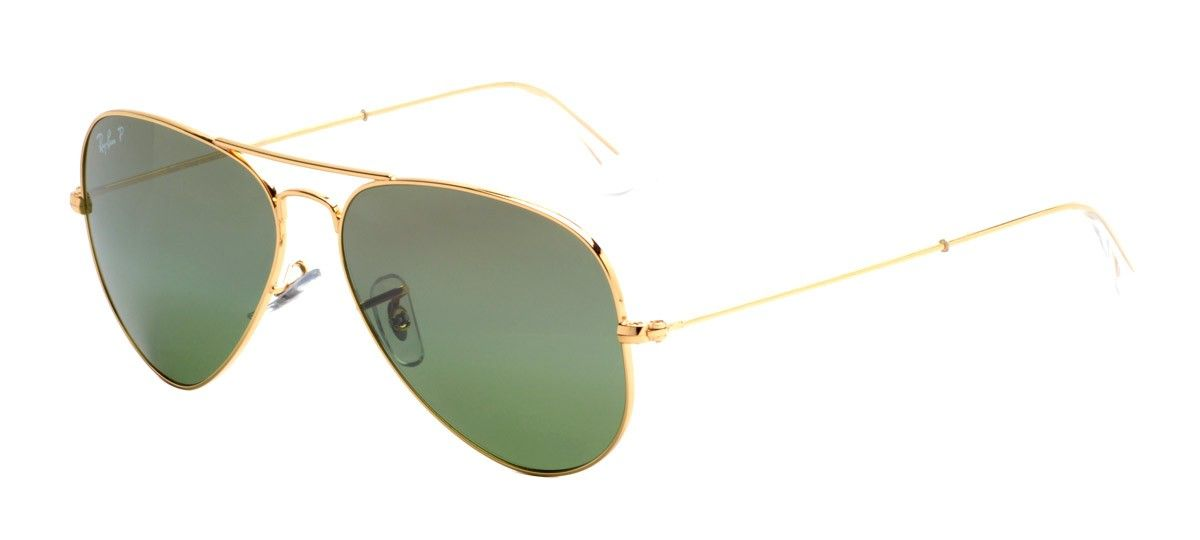 e4a35192c9131 Ray-Ban RB3025 Aviador 58 - Dourado - Polarizado - 001 M4 - Óculos ...