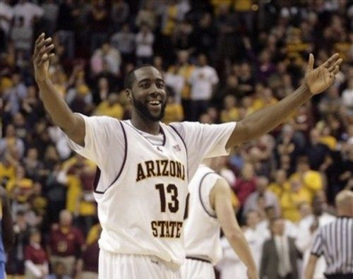 68949b7811f James Harden in college...