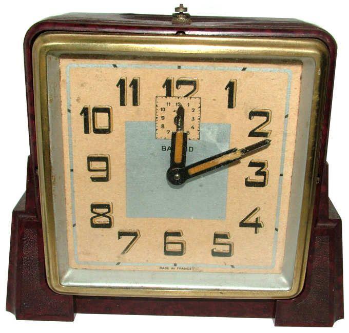 Original 1930s Bakelite Art Deco Clock Art Deco Clock Clock Vintage Clock