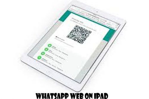 WhatsApp Web on iPad Whatsapp Web Ipad, Whatsapp