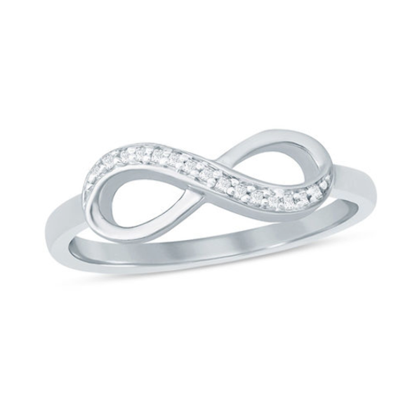 Pin On Infinity Wedding Rings