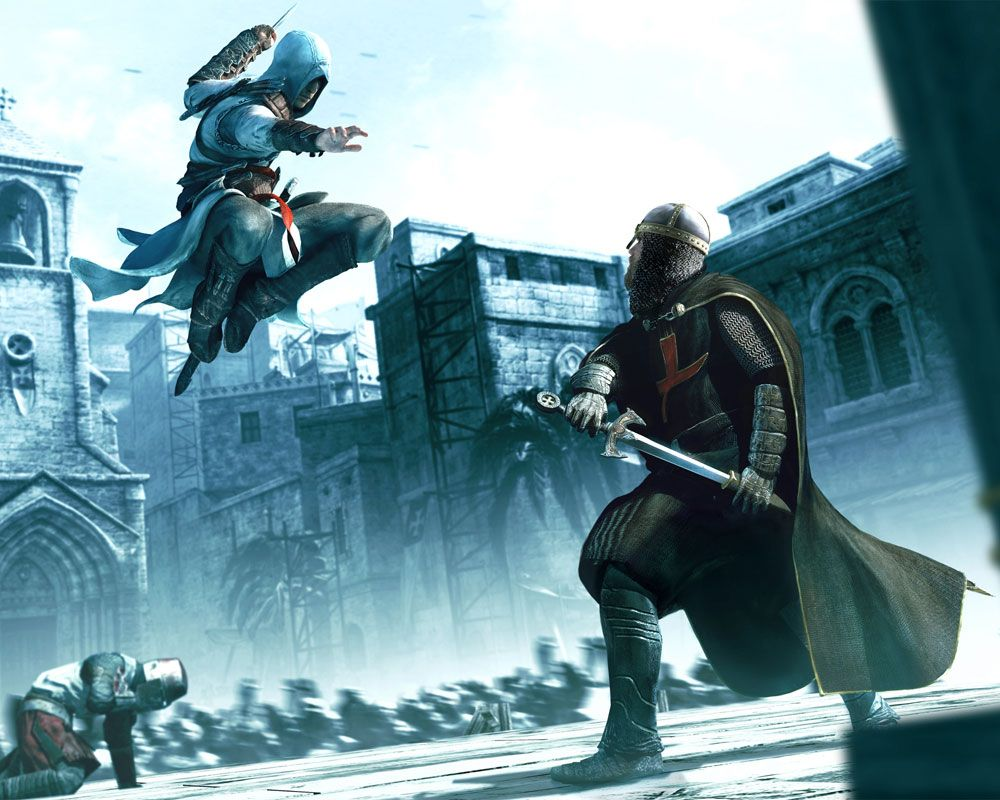 assassin's creed art & pictures death from above | video games