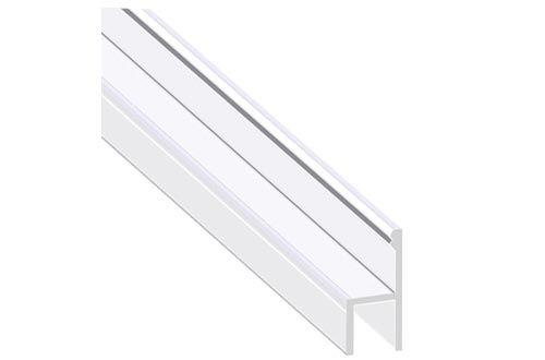 Shower Door Seal Durable Weatherproof Silicone Frameless Shower
