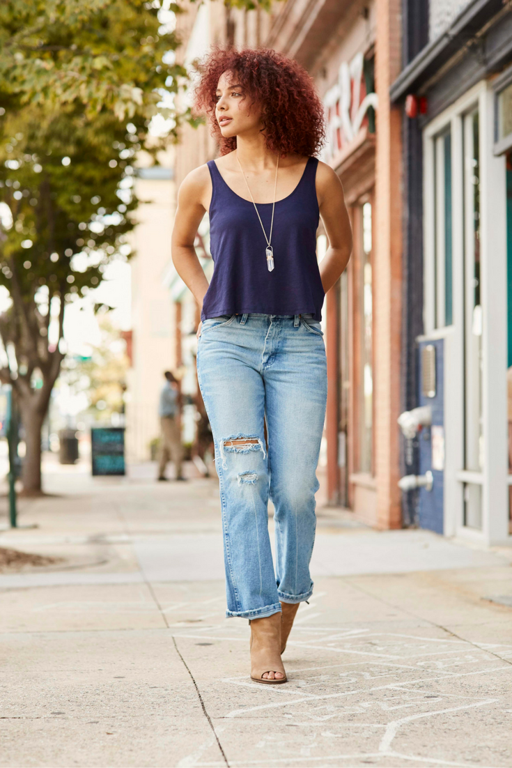 e78d794b Wrangler Heritage jeans - classic denim with a broken-in, vintage feel.