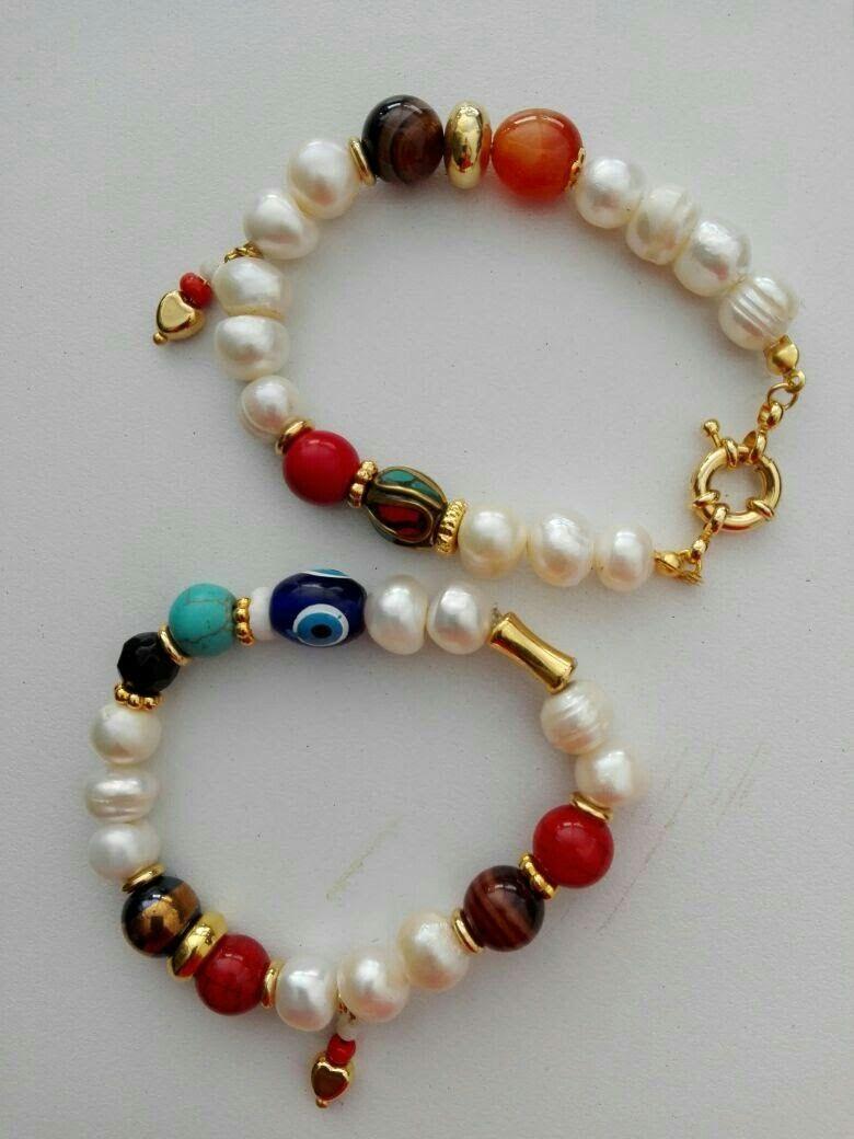 Pin von Mary cuello auf Accesorios | Pinterest | Armbänder, Kragen ...
