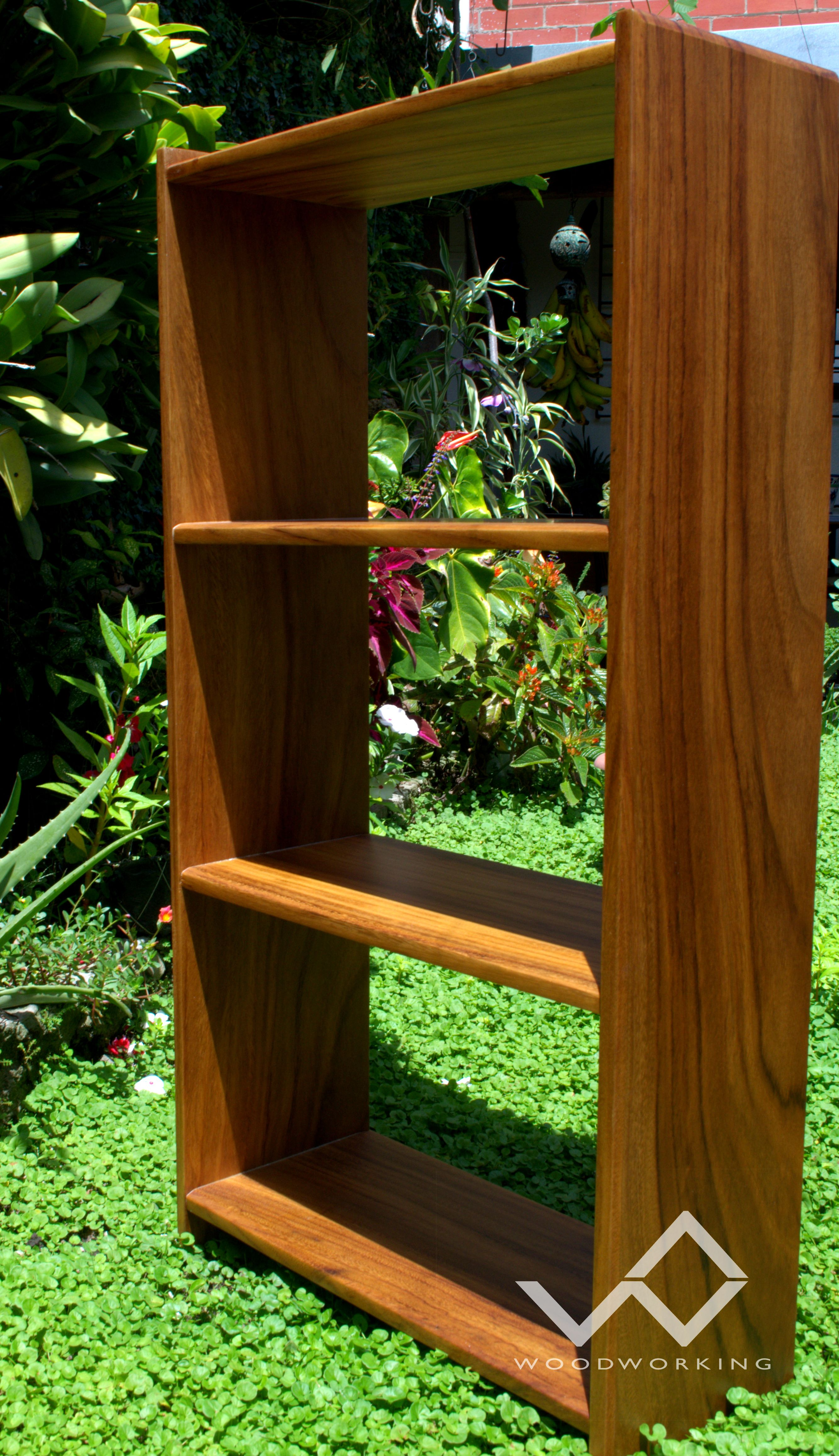 librera conacaste madera bookshelf wood furniture muebles wua