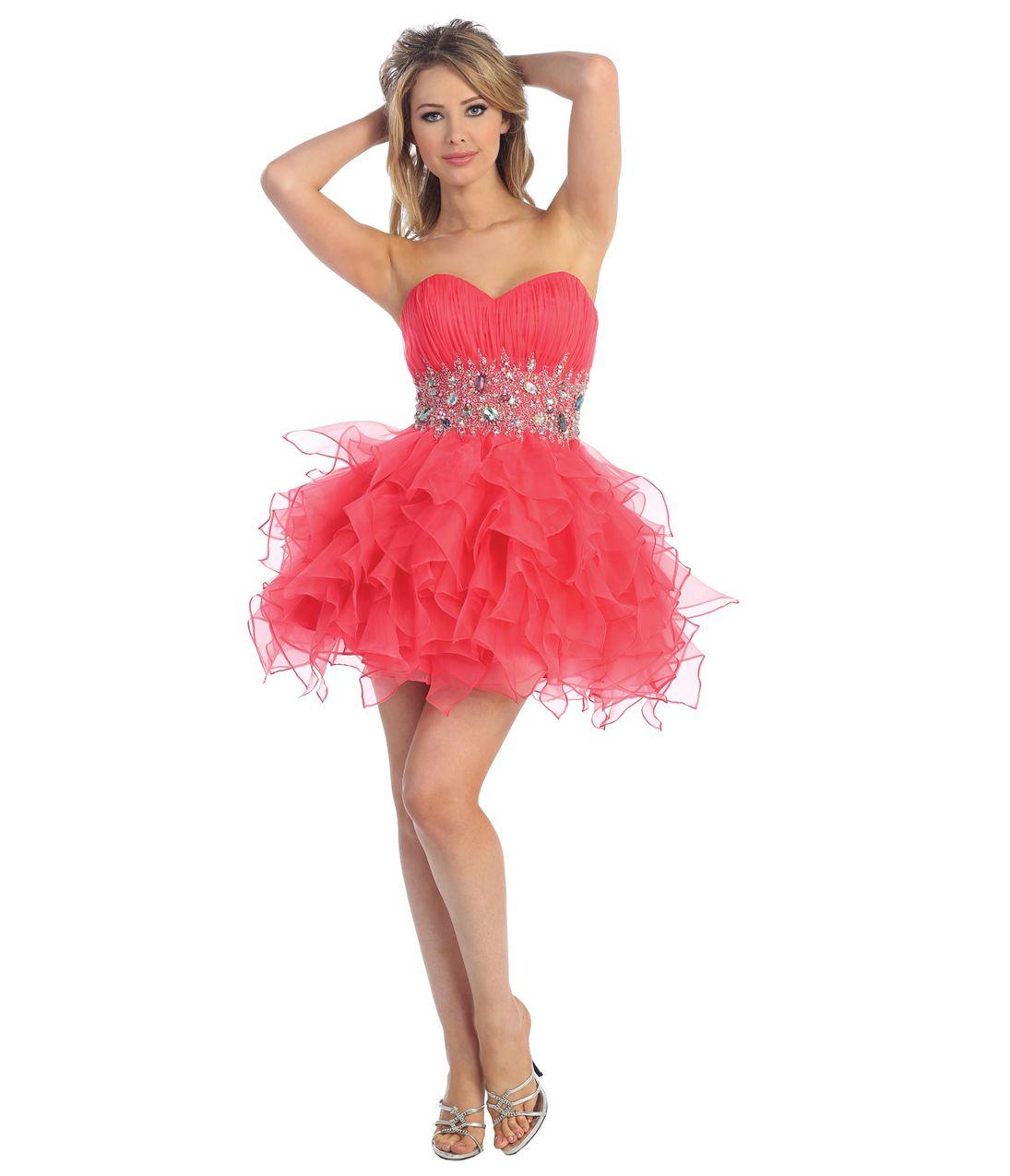 Unique vintage short prom dresses short prom and prom 2013 prom dresses watermelon chiffon short prom dress unique vintage prom dresses ombrellifo Choice Image