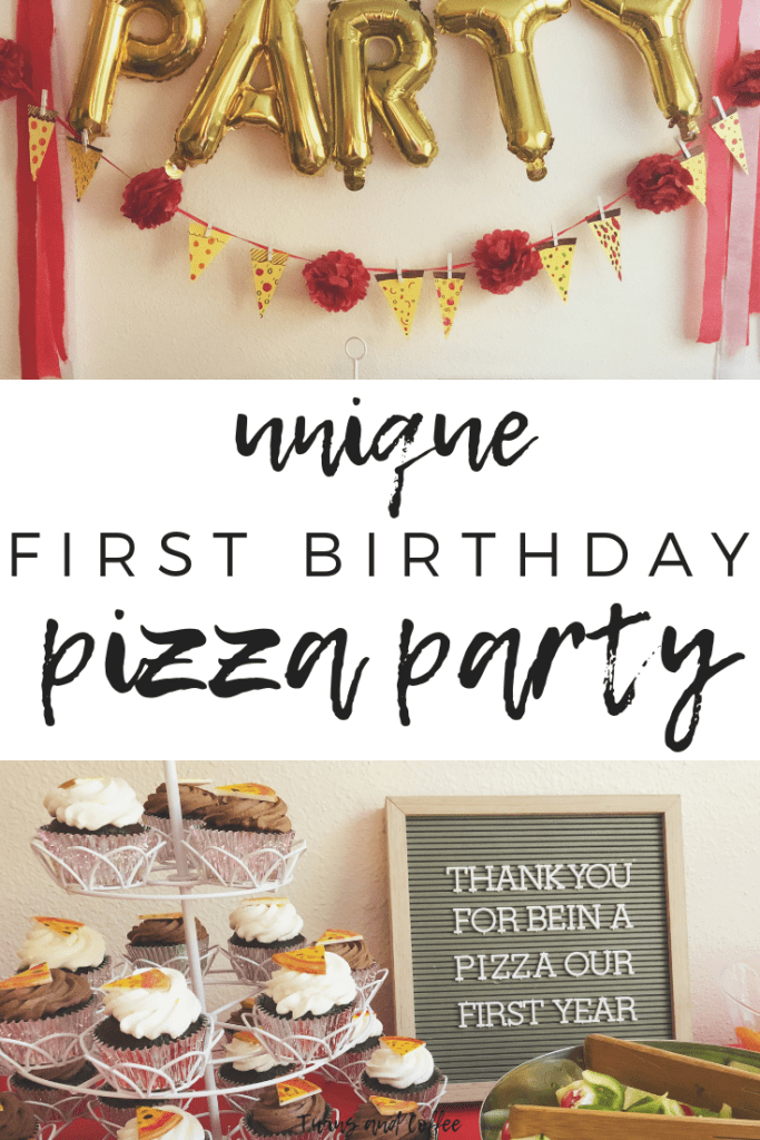 Unique First Birthday Party Idea Pizza Party Pizza Party