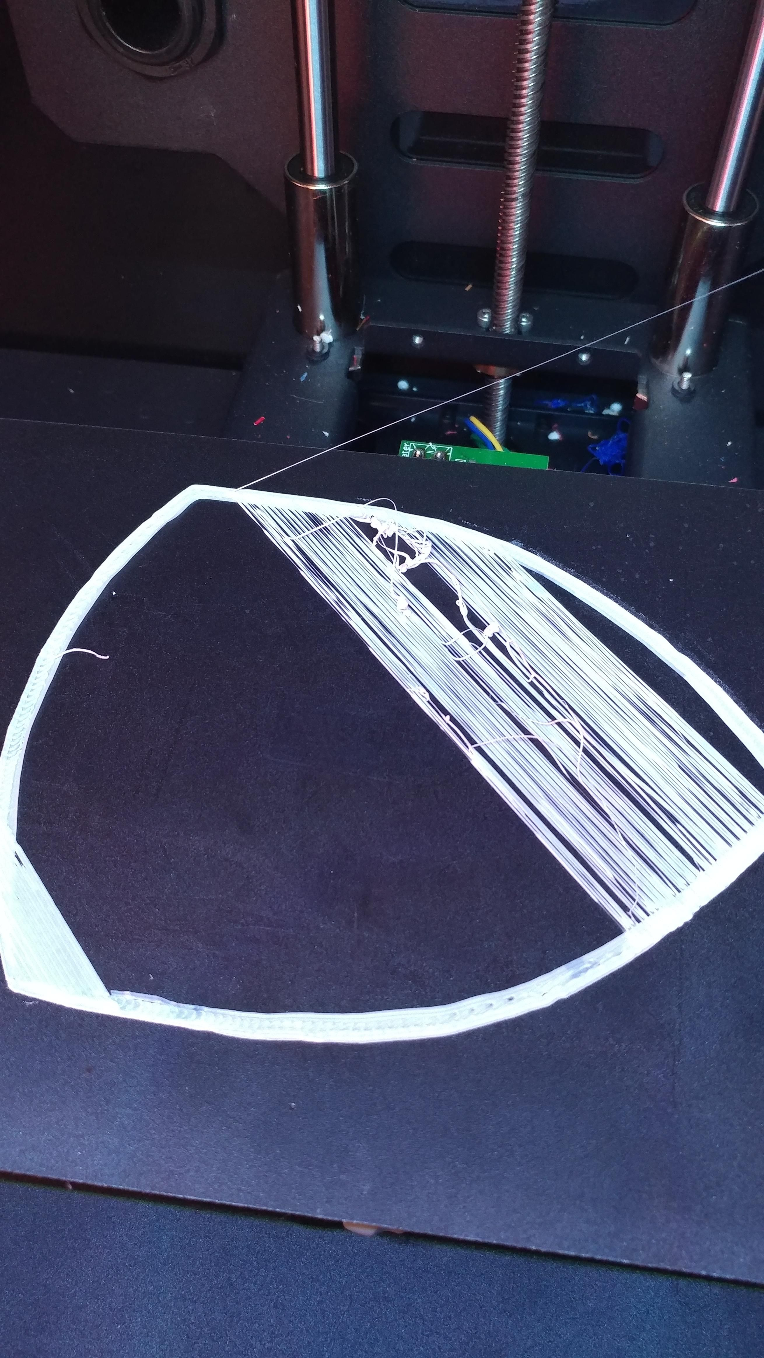 Under extrusion (mainly first layer) | 3D Printing | Prints