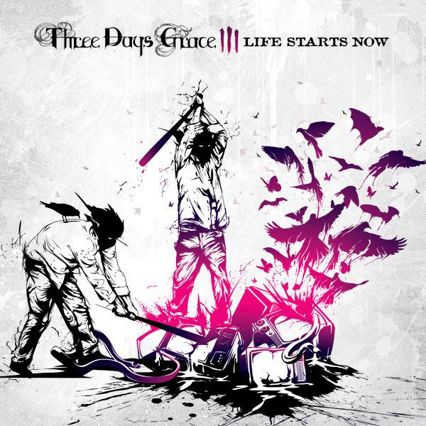 Life Starts Now From The Canadian Rock Band Three Days Grace This Was My First Album I Purchased On Itunes The Albu Three Days Grace Now Albums Album Art