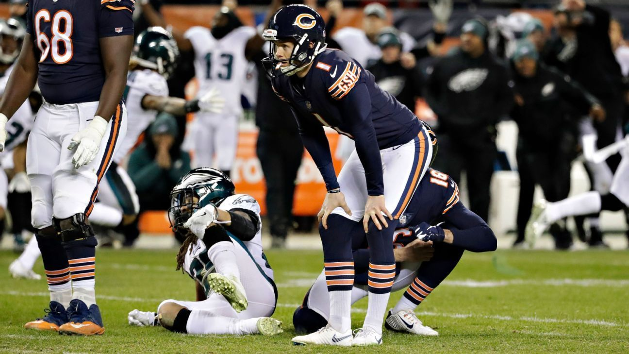 Bears Using Augusta Silence In Search For Kicker Missed Field Goal Field Goal Nfl