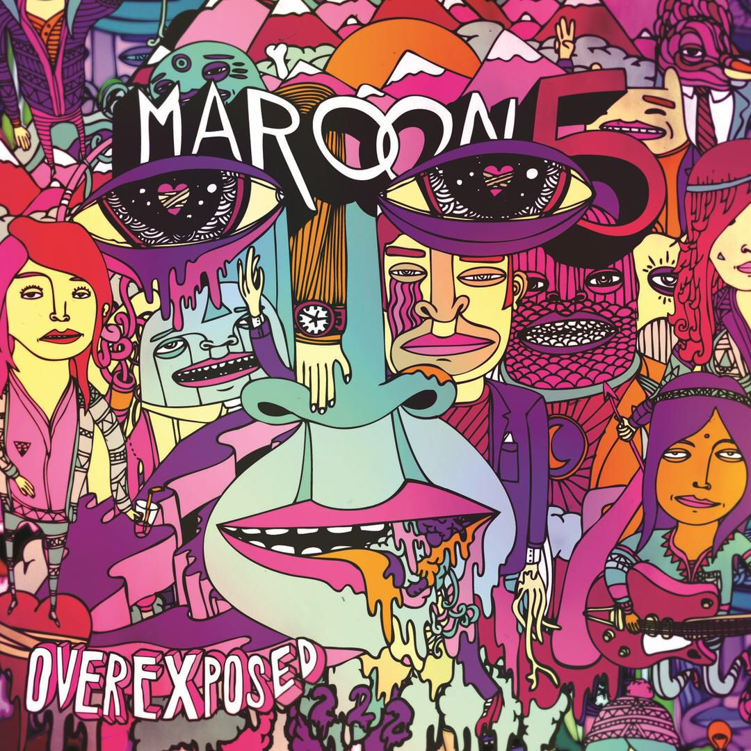 I M Listening To One More Night By Maroon 5 On Pandora Album Cover Art Album Covers Maroon 5