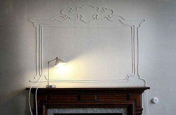conseils pour cacher les fils lectriques hidden tv cache fil electrique decoration et astuces. Black Bedroom Furniture Sets. Home Design Ideas
