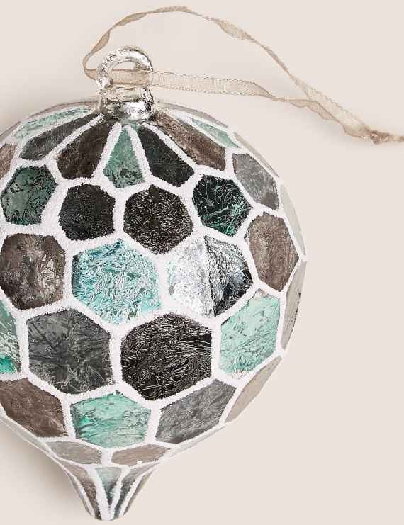Baubles Christmas Baubles M S Popular Gift Cards Sparkle Decorations Charity Christmas Cards