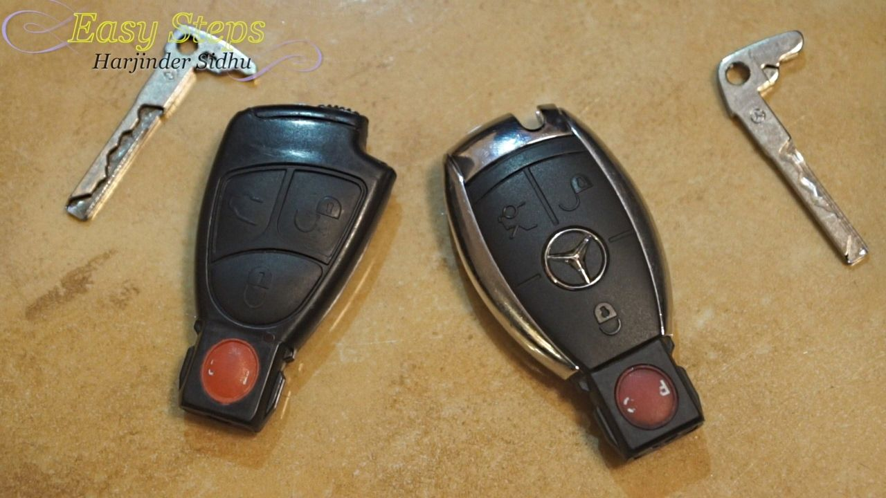 Replace Battery Mercedes Key Fob Not Working Smart Keyfob Dead