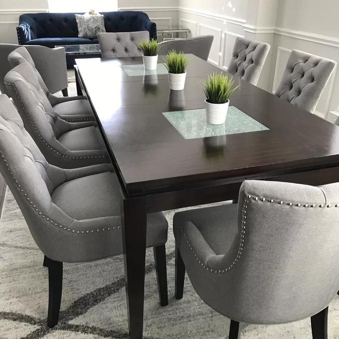 Apoloniusz Tufted Side Chair In 2021 Wayfair Dining Room Chairs Dining Room Wall Color Dining Room Table Decor