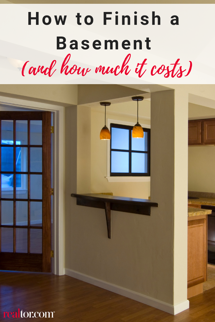 How To Finish A Basement And How Much It Costs Finishing Basement Cost To Finish Basement Basement Remodeling