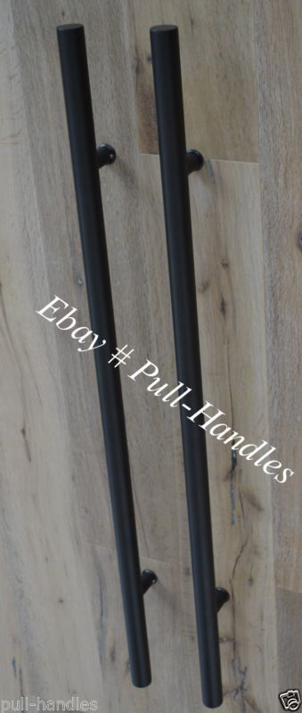 Long Door Handle Ladder Pull Handle Entry Door Stainless Steel Matte ...