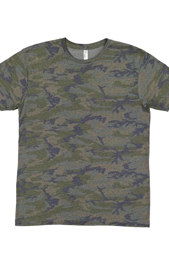 LAT 6901 Vintage Camo Men's Fine Jersey TShirt Shirts