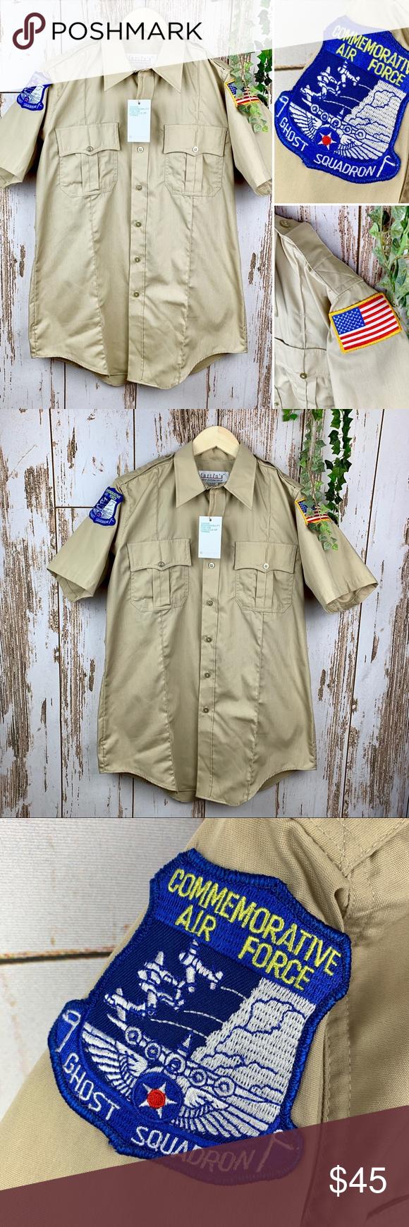 Air Force Ghost Squadron Khaki Uniform Top M L Air