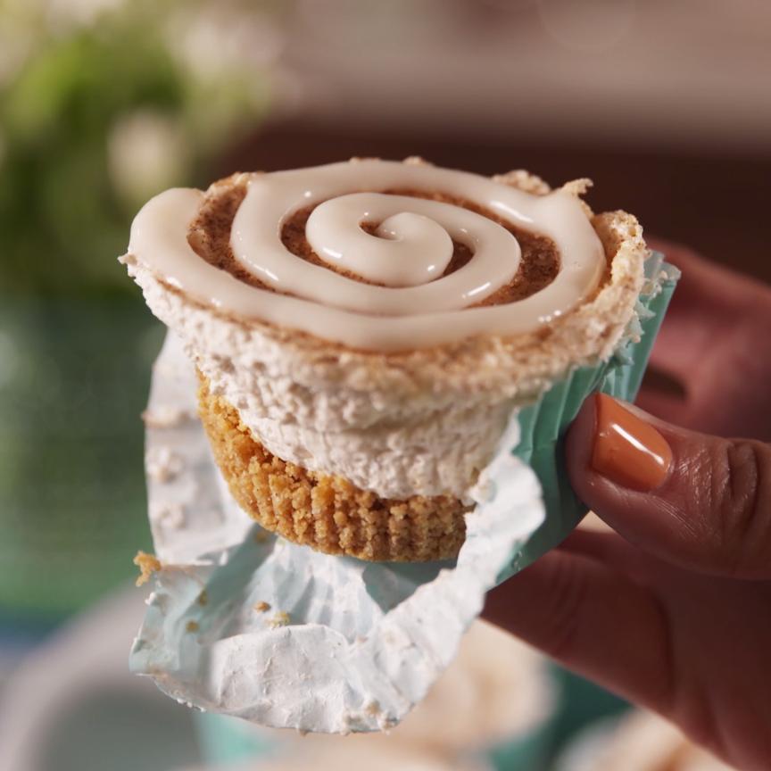 Mini Churro Cheesecakes #cheesecakes