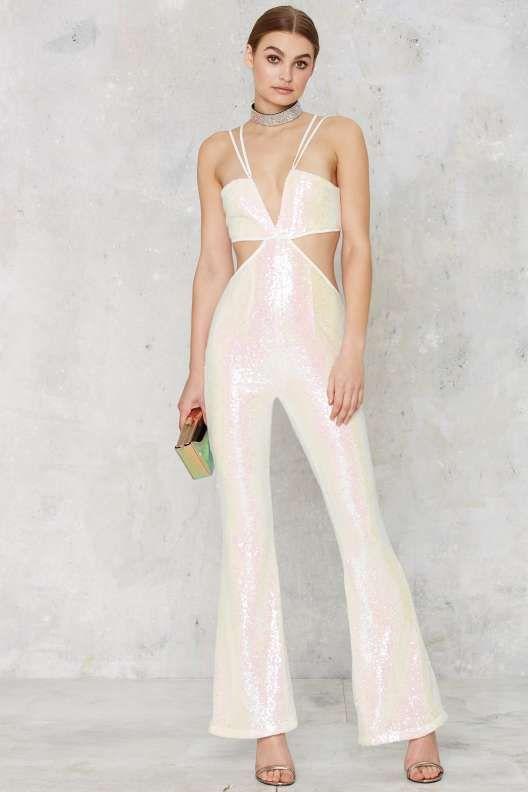 b7ea65f59313 Decadence   yandaa Glamorous Pop Fizz Clink Sequin Jumpsuit - Party ...
