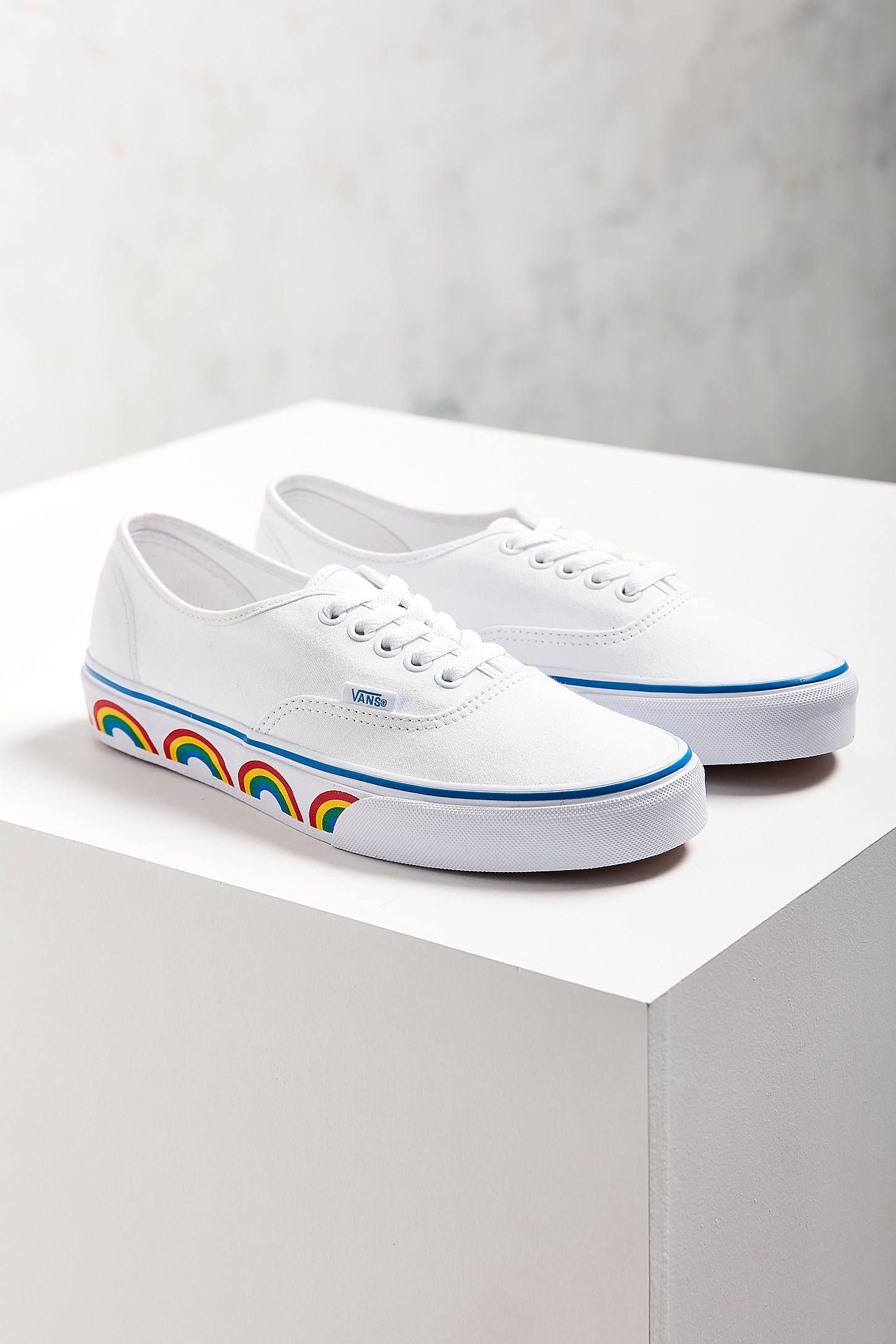 vans rainbow sole