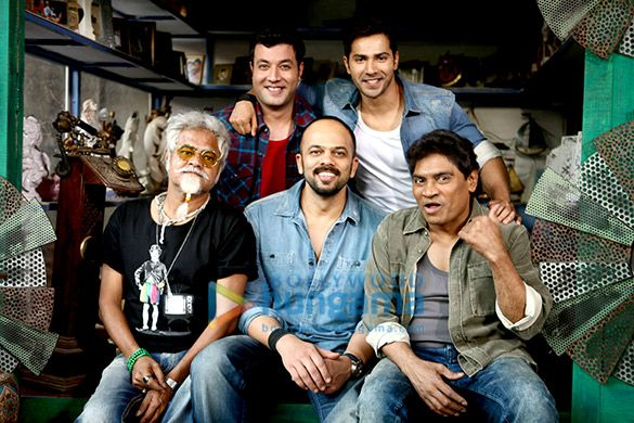 Dilwale (2015) on the sets