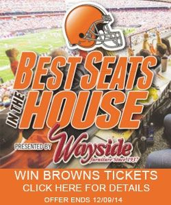 #Browns Contest, Come visit our store and enter.