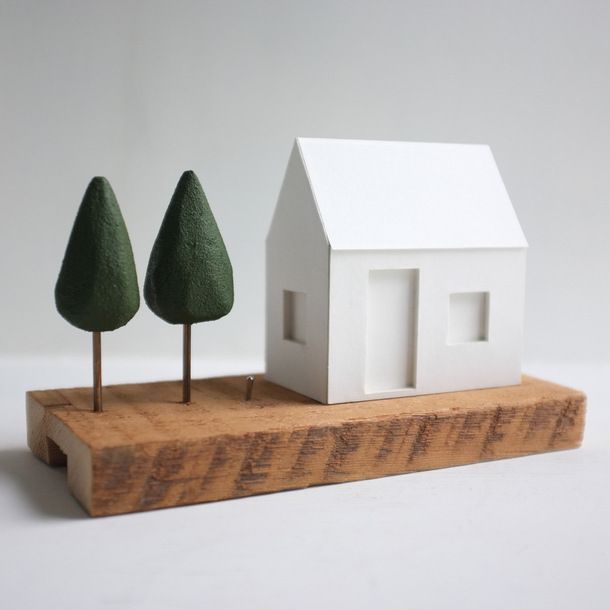 Ghost House Light Pine Tree by 2of2 goods