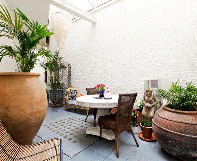 Patios de interior patios decorar tu casa y patio interno - Decoracion aticos pequenos ...