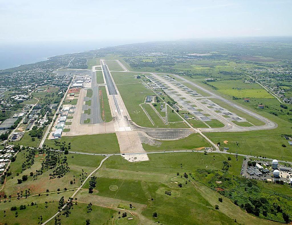 longest airport runway in the caribbean Rafael Hernández