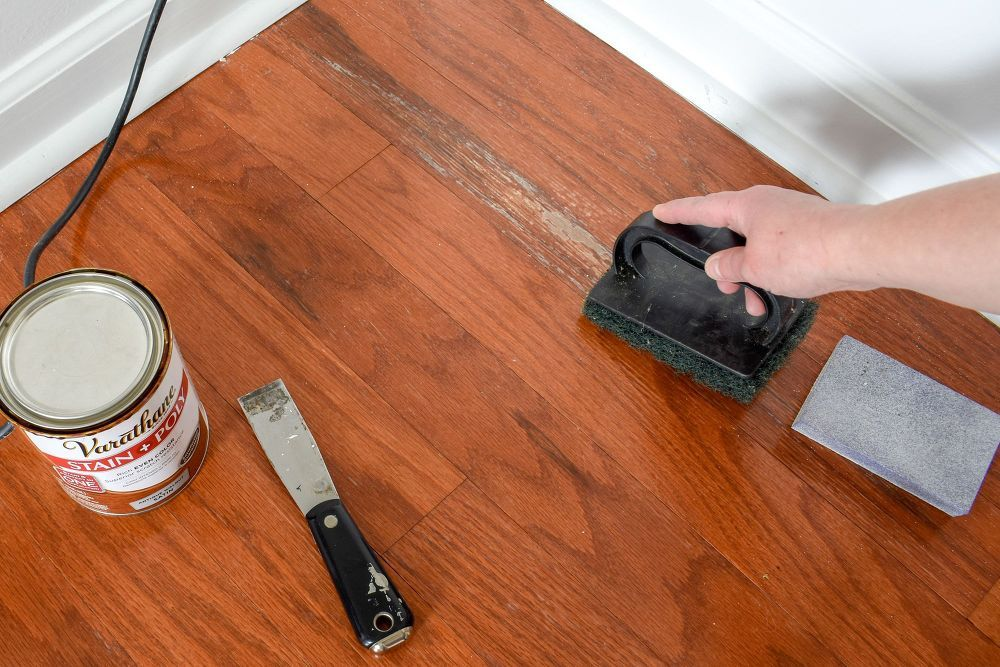 Repair Water Damage On Hardwood Floors (With images